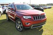 2015 Jeep Grand Cherokee WK MY15 Limited (4x4) Cherry Red 8 Speed Automatic Wagon Buderim Maroochydore Area Preview