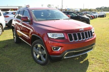 2015 Jeep Grand Cherokee WK MY15 Limited (4x4) Cherry Red 8 Speed Automatic Wagon