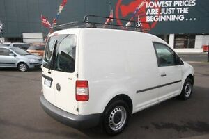 2006 Volkswagen Caddy 2KN White 6 Speed Kingsville Maribyrnong Area Preview