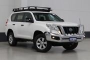 2014 Toyota Landcruiser Prado KDJ150R MY14 GX (4x4) White 5 Speed Sequential Auto Wagon Bentley Canning Area Preview