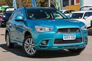 2012 Mitsubishi ASX XA MY12 Blue 6 Speed Constant Variable Wagon Myaree Melville Area Preview