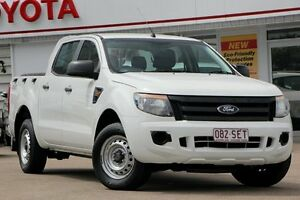 2011 Ford Ranger PX XL 4x2 Hi-Rider White 6 Speed Manual Cab Chassis Woolloongabba Brisbane South West Preview