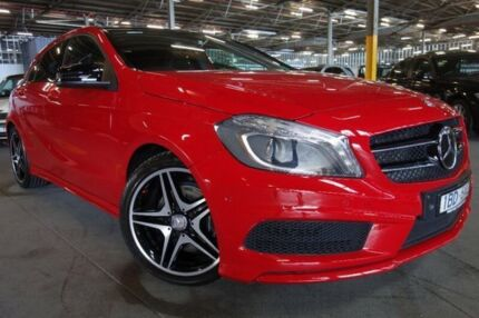 2014 Mercedes-Benz A200 CDI W176 D-CT Red 7 Speed Sports Automatic Dual Clutch Hatchback