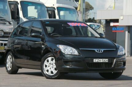2010 Hyundai i30 FD MY10 SX 1.6 CRDi Black 4 Speed Automatic Hatchback Arncliffe Rockdale Area Preview
