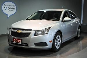 2012 Chevrolet Cruze LT Turbo w/1SA Keyless Entry + Cruise Contr