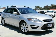 2011 Ford Mondeo MC LX PwrShift TDCi Silver 6 Speed Sports Automatic Dual Clutch Wagon Craigieburn Hume Area Preview