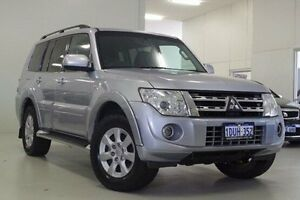 2011 Mitsubishi Pajero NT MY11 GLS Silver 5 Speed Sports Automatic Wagon Myaree Melville Area Preview