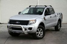 2012 Ford Ranger PX XL Double Cab Silver 6 Speed Sports Automatic Utility Frankston Frankston Area Preview