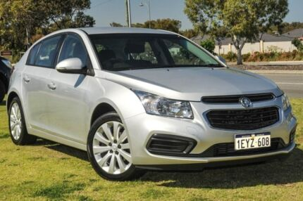 2016 Holden Cruze JH Series II MY16 Equipe Silver 6 Speed Sports Automatic Hatchback Wangara Wanneroo Area Preview