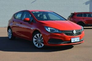 2018 Holden Astra BK MY18.5 R+ Red 6 Speed Sports Automatic Hatchback Morley Bayswater Area Preview