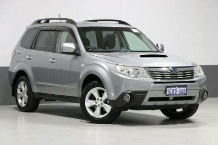 2009 Subaru Forester MY10 XT Premium Grey 4 Speed Auto Elec Sportshift Wagon Bentley Canning Area Preview