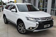 2016 Mitsubishi Outlander ZK MY17 LS 2WD Safety Pack White 6 Speed Constant Variable Wagon Hoppers Crossing Wyndham Area Preview