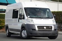 2010 Fiat Ducato Series II MY10 JTD LWB White 6 Speed Seq Manual Auto-Clutch Van Acacia Ridge Brisbane South West Preview