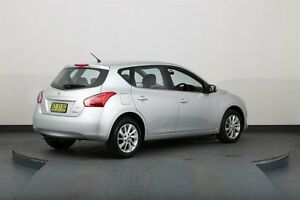 2013 Nissan Pulsar C12 ST Silver Continuous Variable Hatchback Smithfield Parramatta Area Preview