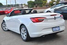 2014 Holden Cascada CJ MY15.5 White 6 Speed Sports Automatic Convertible Bayswater Bayswater Area Preview