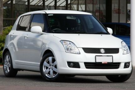 2009 Suzuki Swift RS415 White 4 Speed Automatic Hatchback Christies Beach Morphett Vale Area Preview