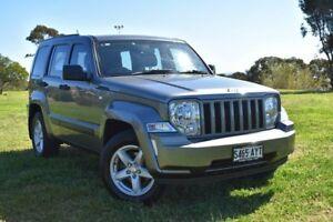 2012 Jeep Cherokee KK MY12 Sport 4x2 Grey 4 Speed Automatic Wagon St Marys Mitcham Area Preview