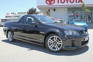 2009 Holden Commodore VE MY09.5 SS Black 6 Speed Manual Utility Hillman Rockingham Area Preview