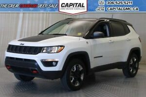 2017 Jeep Compass Trailhawk 4WD*Leather*Nav*