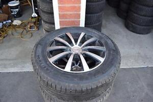 Mazda CX-5 225/65/17 Michelin Snows On Alloys 75% Tread