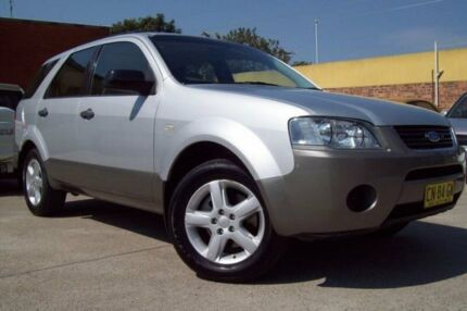 2007 Ford Territory SY MY07 Upgrade TS (RWD) Silver 4 Speed Auto Seq Sportshift Wagon
