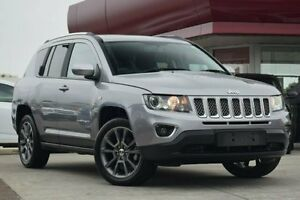 2014 Jeep Compass MK MY15 Limited (4x4) Silver 6 Speed Automatic Wagon Waitara Hornsby Area Preview