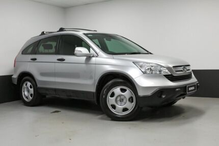 2008 Honda CR-V RE MY2007 4WD Silver 5 Speed Automatic Wagon Hamilton East Newcastle Area Preview