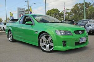 2007 Holden Ute VE SS Green 6 Speed Manual Utility