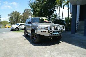 2000 Nissan Patrol GU II ST Gold 5 Speed Manual Wagon Ashmore Gold Coast City Preview