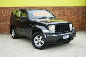 2011 Jeep Cherokee KK MY11 Sport Charcoal 4 Speed Automatic Wagon Upper Ferntree Gully Knox Area Preview