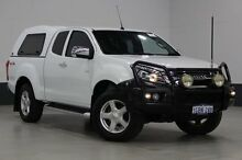 2013 Isuzu D-MAX TF MY12 LS-U HI-Ride (4x4) White 5 Speed Automatic Spacecab Bentley Canning Area Preview
