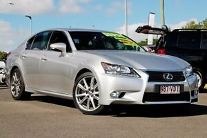 2013 Lexus GS350 GRL10R Sports Luxury Silver 6 Speed Sports Automatic Sedan Monkland Gympie Area Preview