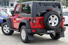 2013 Jeep Wrangler JK MY2013 Sport Red 6 Speed Manual Softtop Penrith Penrith Area Preview