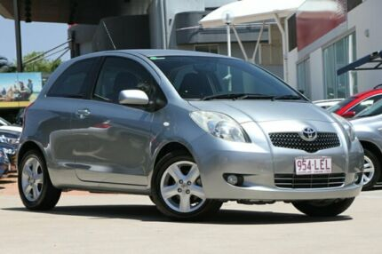 2006 Toyota Yaris NCP91R YRX Grey 4 Speed Automatic Hatchback Hillcrest Logan Area Preview