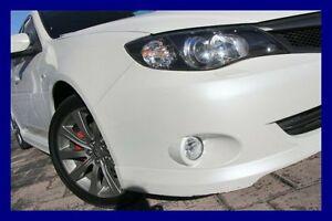 2009 Subaru Impreza G3 MY09 WRX AWD White 5 Speed Manual Sedan Lilydale Yarra Ranges Preview