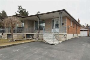 Semi-Detached Raised Bungalow For Sale In Toronto !!!