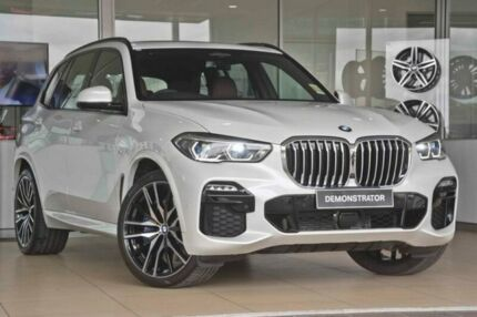 2018 BMW X5 G05 xDrive30d Steptronic White 8 Speed Sports Automatic Wagon Darra Brisbane South West Preview