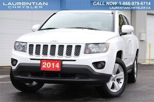 2014 Jeep Compass North-LOW KMS+LEATHER