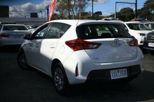 2014 Toyota Corolla White Constant Variable Hatchback Frankston Frankston Area Preview