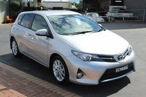 2013 Toyota Corolla ZRE182R Ascent Sport Silver 7 Speed CVT Auto Sequential Hatchback South Maitland Maitland Area Preview