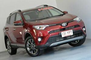 2017 Toyota RAV4 ALA49R Cruiser AWD Red 6 Speed Sports Automatic Wagon Kedron Brisbane North East Preview