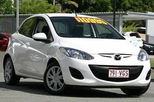 2012 Mazda 2 DE10Y2 MY12 Neo White 5 Speed Manual Hatchback Kedron Brisbane North East Preview