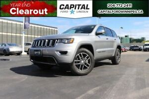 2018 Jeep Grand Cherokee Limited SUNROOF, LEATHER, REMOTE START