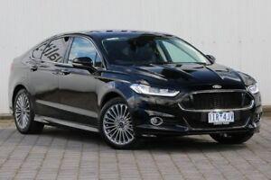 2016 Ford Mondeo MD Titanium PwrShift Black 6 Speed Sports Automatic Dual Clutch Hatchback