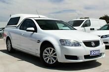 2010 Holden Ute VE II Omega White 6 Speed Sports Automatic Utility Craigieburn Hume Area Preview