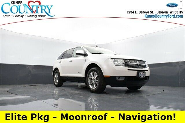 2010 Lincoln MKX  White Platinum Metallic Tri-Coat 4D Sport Utility - Shipping A