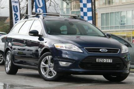 2011 Ford Mondeo MC Zetec Tdci Blue 6 Speed Direct Shift Wagon Waitara Hornsby Area Preview