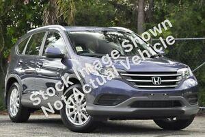 2013 Honda CR-V RM MY14 VTi 4WD Blue 5 Speed Sports Automatic Wagon