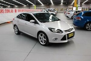 2011 Ford Focus LW Titanium PwrShift Silver 6 Speed Sports Automatic Dual Clutch Sedan Maryville Newcastle Area Preview