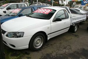 2007 Ford Falcon BF MkII XL White 4 Speed Auto Seq Sportshift Cab Chassis Briar Hill Banyule Area Preview